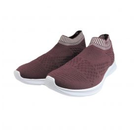 Tênis Knit Bordo Italeoni