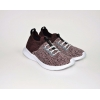 tenis feminino it knit Tecido multicolor / bordo preto