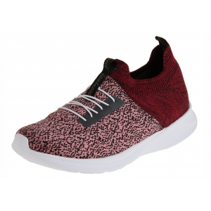 tenis it knit italeoni multicolor bordo preto