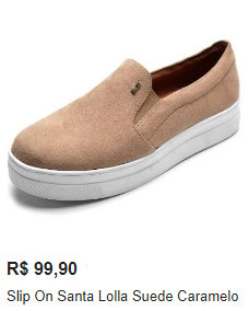 slip on feminino santa lolla